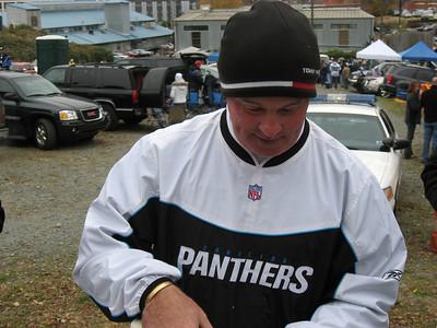 Panthers vs Saints November 26th 2007